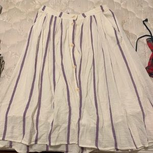Large lucky brand Skirt